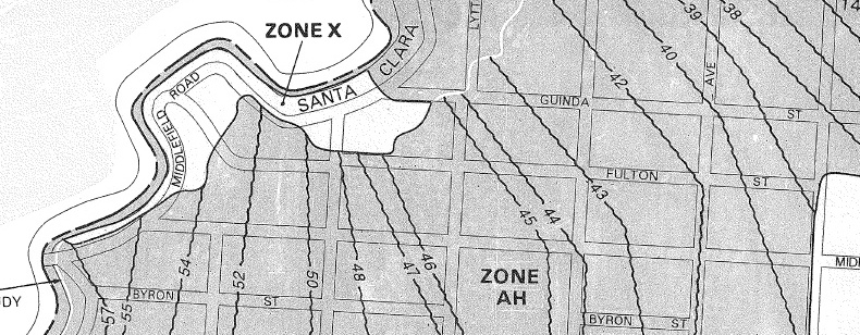 Flood Zone - Zone x on fema flood map